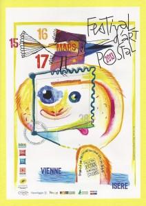 Affiche Festival d'Art Postal
