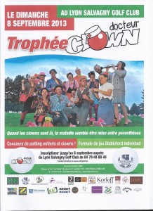 Tournoi golf 8 septembre 2013