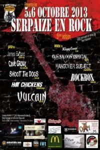 affiche festival rock