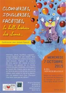 Conférence 7 octobre Belleville
