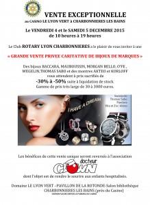 Vente bijoux Rotary 12 2015